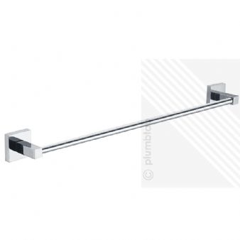 BRISTAN TWIST SINGLE TOWEL RAIL CHROME PLATED - TW RAIL C